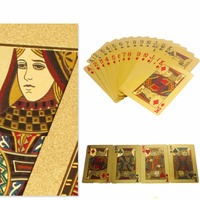 Speical Design Luxury Adult Collection 24K Gold Foil Playing Cards Poker Cards Best Business Gift Drop