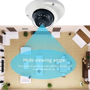 Image 4 - Hamrolte IP Camera H.265 SONY IMX323 UltraLow Illumination1080P Vandal proof Dome Camera Audio Record Motion Detection ONVIF