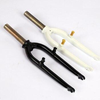 Aluminum alloy front  fork 20er 20inch folding bike BMX Bicycle V-brake 74mm open-gear  28.6mm 135mm Compatible with java