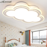 New Kids ceiling led light for bedroom remote control cloud type ceiling mounted luminaire Light Fixtures for 8 20 square meters