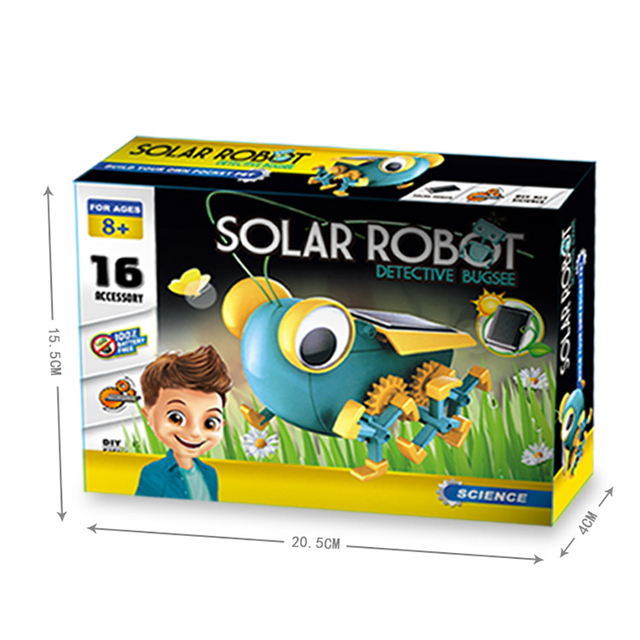 Solar Power Transformation Robot Kit  5