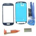 Передняя Внешний Объектива Стекло Замена Наборы Для Samsung Galaxy S3 Mini i8190 Стекло Repiar Части УФ Лезвие Клей Клей