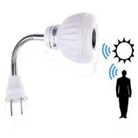 Lowest Price AC 85 265V 5W LED PIR Infrared Sensor Motion Detector Light Lamp Bulb US