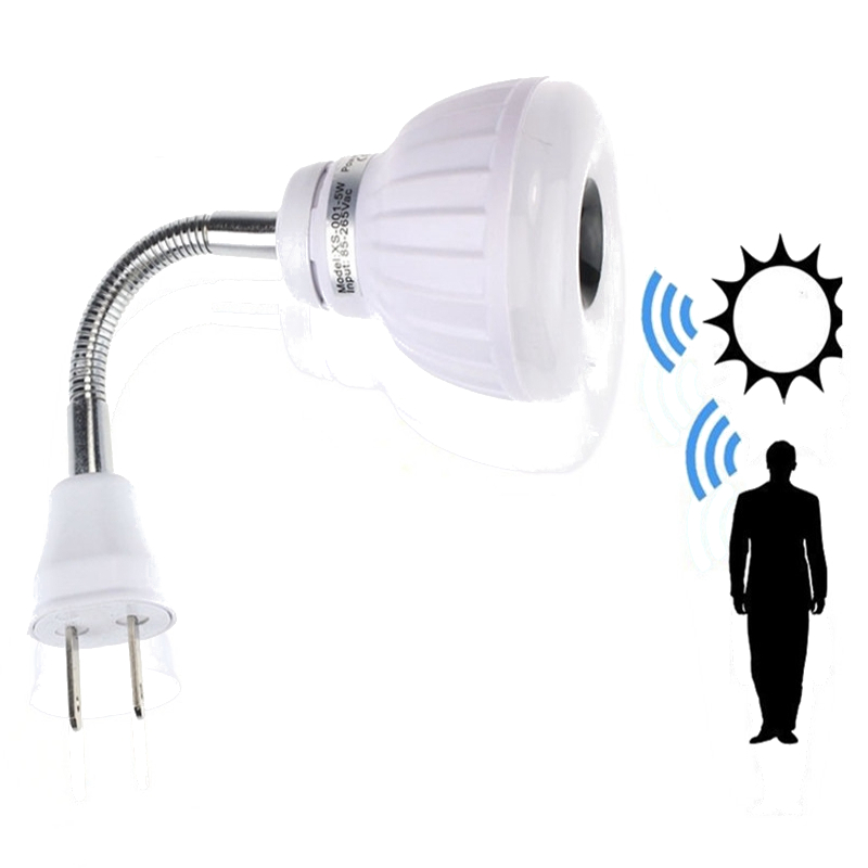 Lowest Price 5W 2835 SMD 25LED PIR Infrared Sensor Motion Detector Light Lamp Bulb US Plug  AC 85-265V