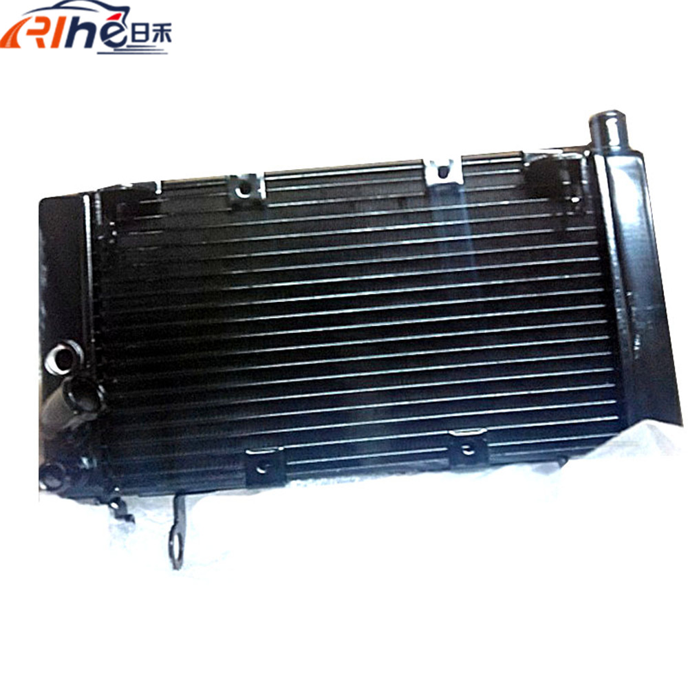 latest style motorcycle radiator cooler aluminum motorbike cooling radiator black color For BENELLI BJ600GS BN600