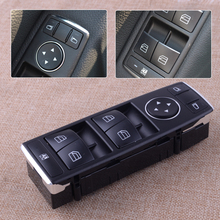цена на High Quality Black Driver Side Front Door Electric Power Window Switch 3 Pin Fit For Mercedes Benz C E Class GLK A2049055302