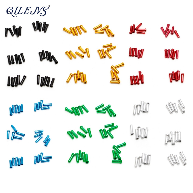 30 Stücke set 7 Farben Bremse Draht Endkappe Kabel Teile Aluminium ...