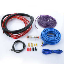 6GA Audio Speaker Wiring kit Cable Amplifier Subwoofer Speaker Installation Wire