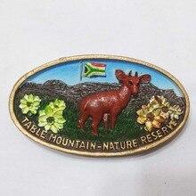 South Africa Antelope tourist souvenir refrigerator stickers