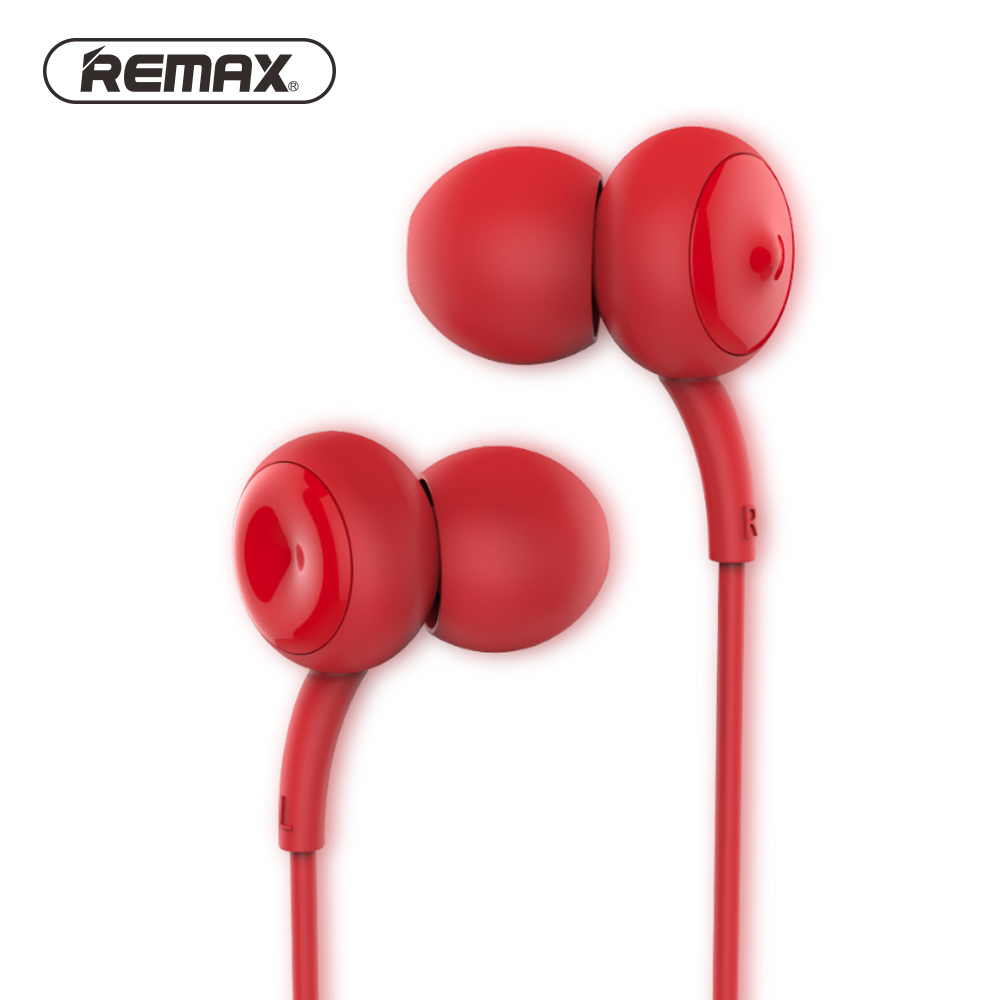 Remax Bass Stereo Wired Earphone With Mic In-ear Earbuds Noise Cancelling Earphones Universal For Samsung For iPhone 6s Earset in ear connector earbuds 3 5mm wired earphone with microphone noise cancelling headset for lg xiaomi iphone samsung mp3 mp4