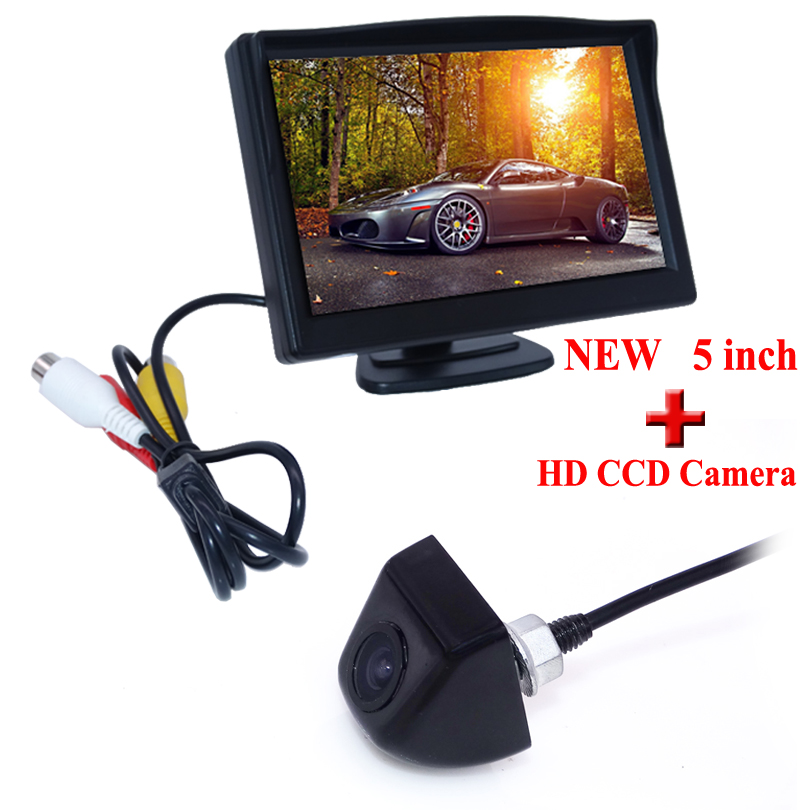 170 Degree Car Styling 2016 Reverse Camera With Monitor