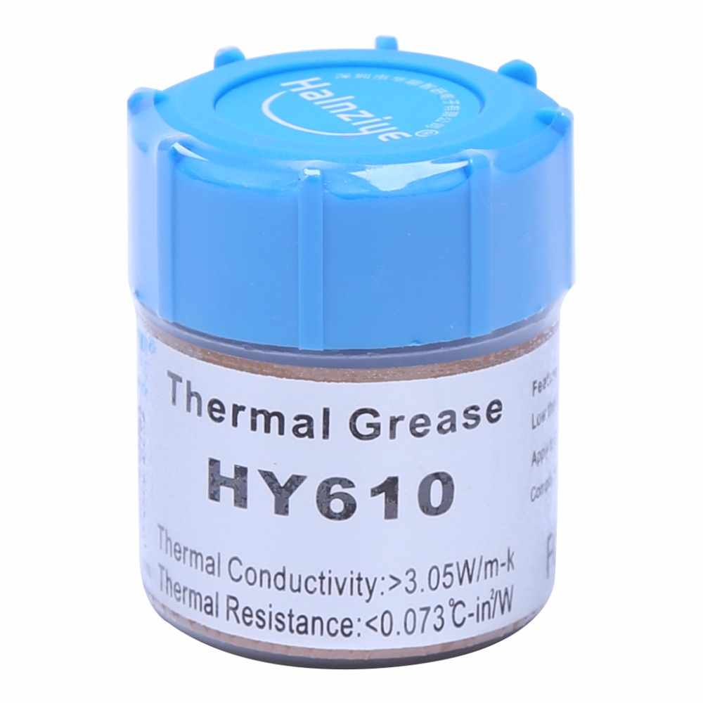 10g HY610-CN10 Thermal Grease Chipset CPU Cooling Compound Silicone Paste 3.05W