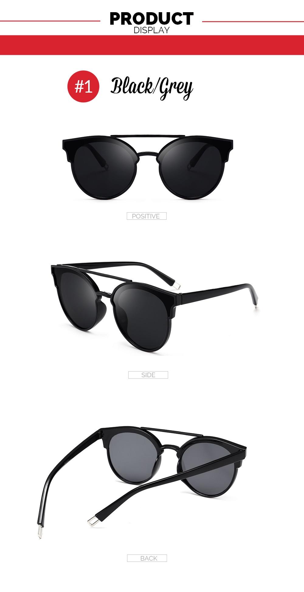 618fd204fbd1 VIVIBEE Selection Vintage Oval Glasses Fashion Style UV400 Protect ...