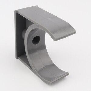 Image 3 - 300pcs 75mm PVC מהדק צינור מים צינור מחברים U סוג צינור פרסת קליפ