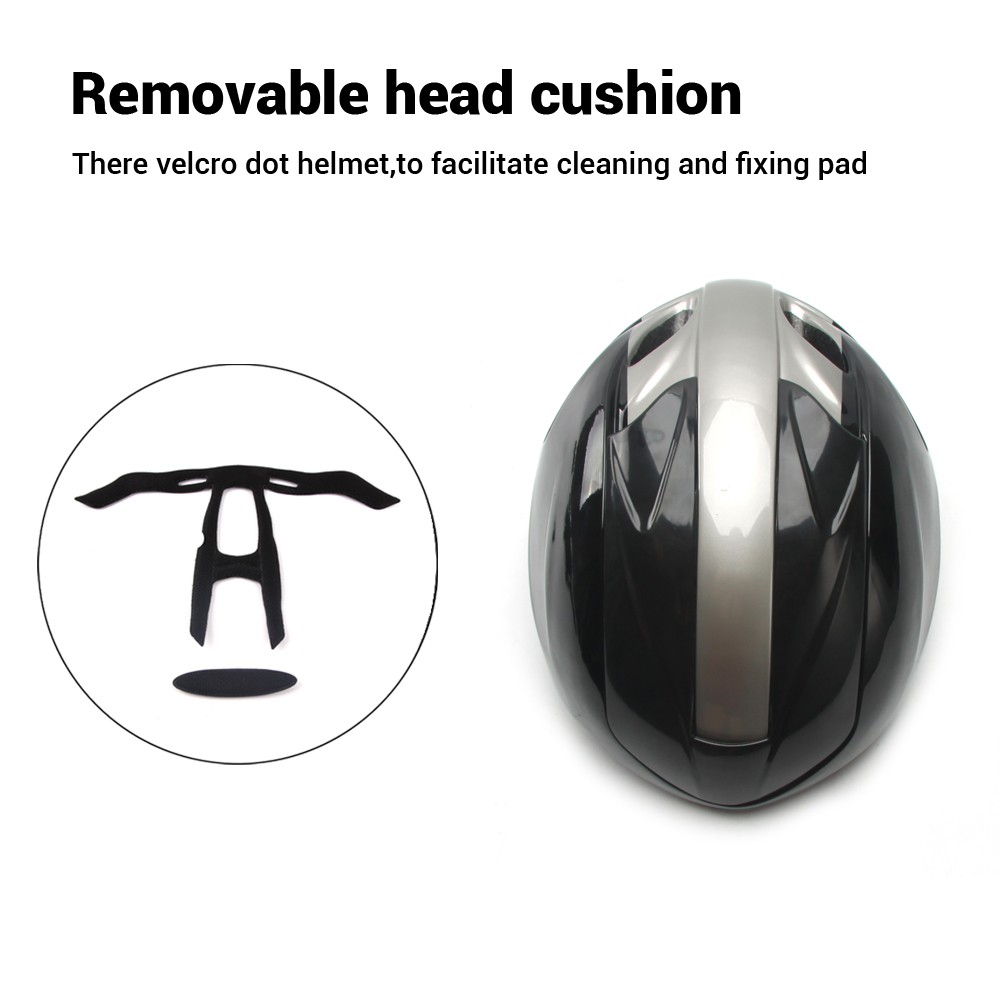 pneumatic Cycling Helmet triathlon Time Trial Road Bike Helmet casco  ciclismo 55-59CM Adjustable air hole Bicycle equipment
