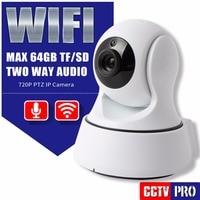 HD 720P 1.0MP PTZ Wifi IP Camera Security IR-Cut Night Vision Two Way Audio MINI CCTV Surveillance IP Camera Wireless APP CAM360