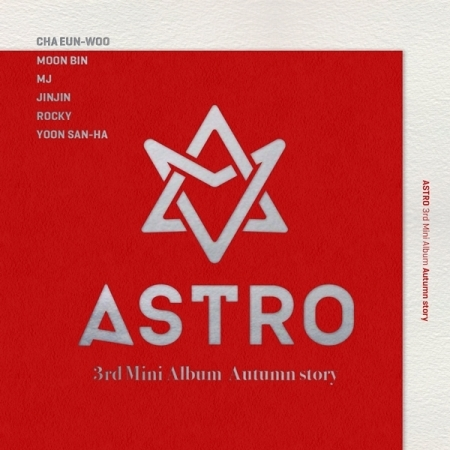 ASTRO 3RD MINI ALBUM -AUTUMN STORY  (A Ver.  / Red Ver.) Release Date 2016.11.11 lexington studios 24018g its a girl mini album