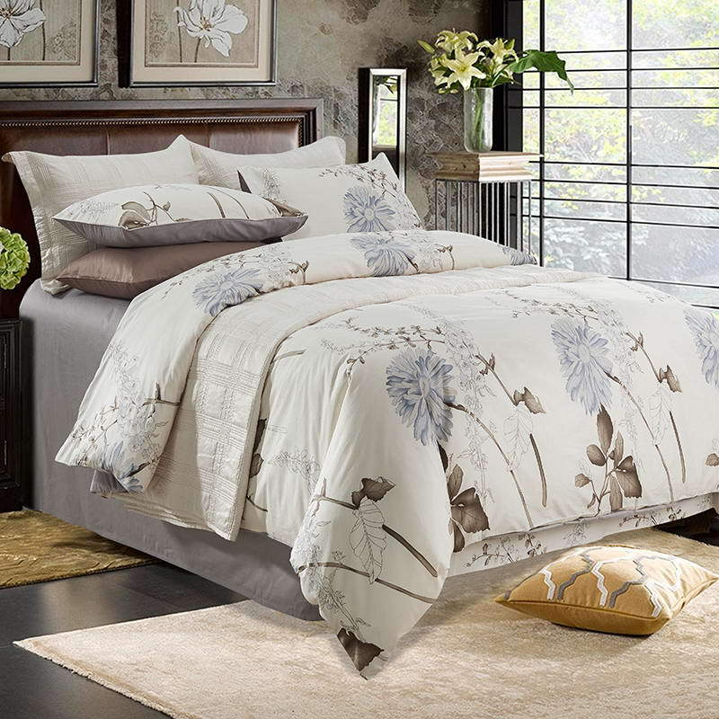 Elegant Daisy Country Style Bedding Set Queen&King Size