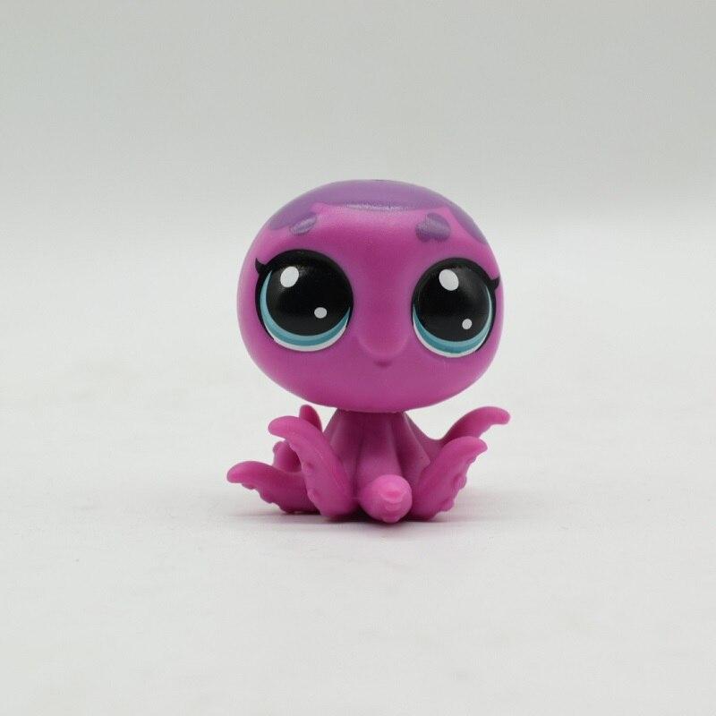 Pvc Lps Acción Grandes Pulpo Lindo Ojos Animales Figura Encantadores Lindos Juguetes Violeta De SMqUpGLzV