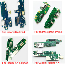 USB Port Charger Dock Plug Connector Flex Cable For Xiaomi redmi 4 4A 4X 4 Pro/4 Prime 5 6 Note 3 5 6 S2 5A Charging Port Board
