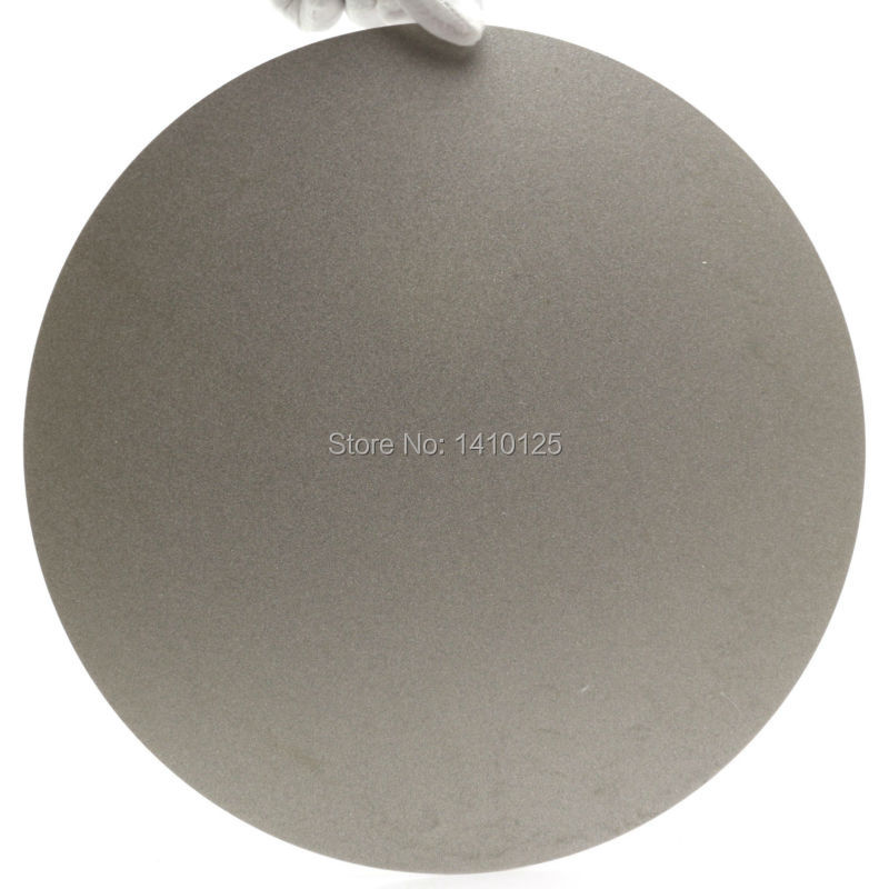 NO CENTER HOLE 10 inch 250mm Grit 240 Medium Diamond coated Flat Lap Disk Grinding Polishing Wheel Jewelry Glass Lapidary Tile