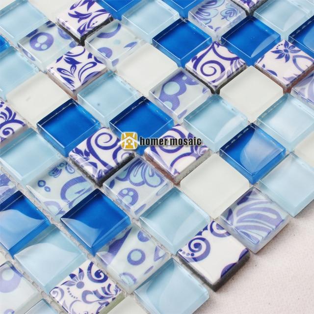 Impreso EHGM1069C para backsplash de la cocina azulejos de mosaico ...