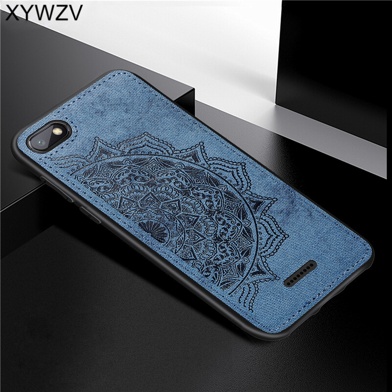 Image 4 - Xiaomi Redmi 6A Shockproof Soft TPU Silicone Cloth Texture Hard PC Phone Case Xiaomi Redmi 6A Back Cover Xiaomi Redmi 6A Fundas-in Fitted Cases from Cellphones & Telecommunications