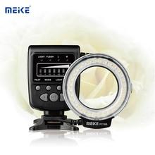 "Meike FC 100 ח""כ FC100 מאקרו טבעת פלאש צילום LED Speedlite אור עבור Canon ניקון אולימפוס Pentax DSLR מצלמה"