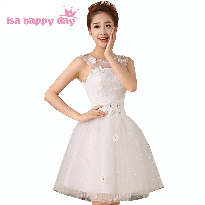 new arrival 2017 robes de soiree short puffy applique   prom     dress   tulle sleeveless ball special occasion   dresses   2018 W2586
