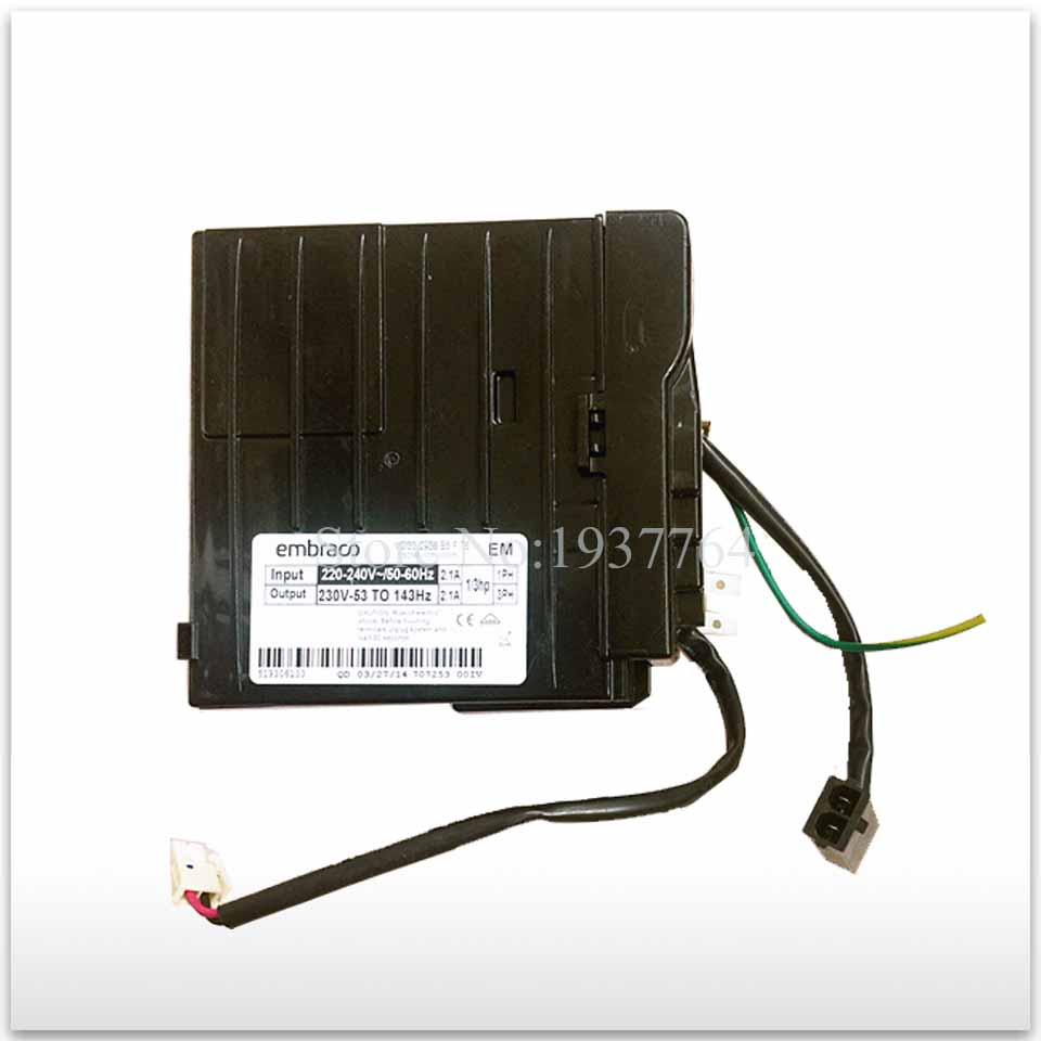 95% new for refrigerator inverter board and Embraco VCC3 2456 B5 F 76 board 95% new