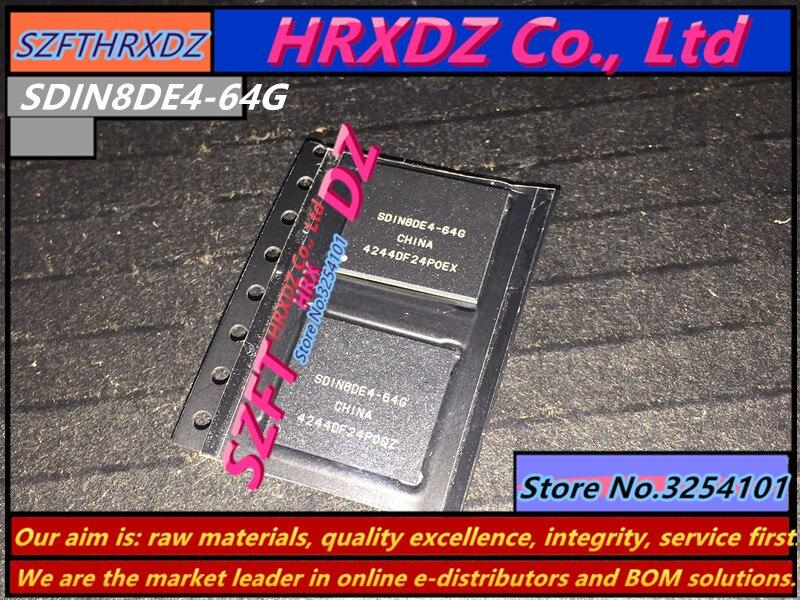 все цены на SZFTHRXDZ 100% new original SDIN8DE4-64G BGA 64G онлайн