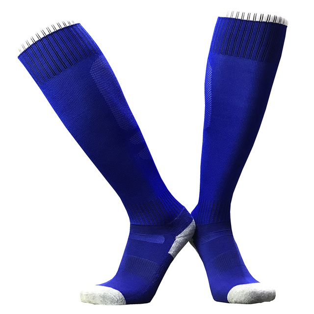 Men Women Football Stockings Cycling Long Soccer Socks Boys Girls Thickened Cotton Sports Socks Kids Youth Volleyball Rugby Sock