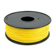 3D printer filament ABS 1.75mm 3.0mm ABS filament 3D filament pla filament light yellow color
