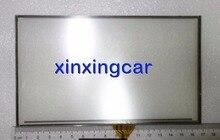 Frete grátis nova marca 7 polegada tela sensível ao toque de 4 Pinos 169mm x 101mm para o sistema de navegação de áudio do carro