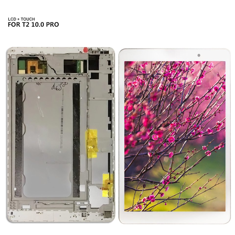 For Huawei MediaPad T2 10.0 Pro LCD Display Touch Screen Digitizer Assembly + Frame T2 10 Pro FDR-A01L FDR-A01W FDR-A03 LCD image