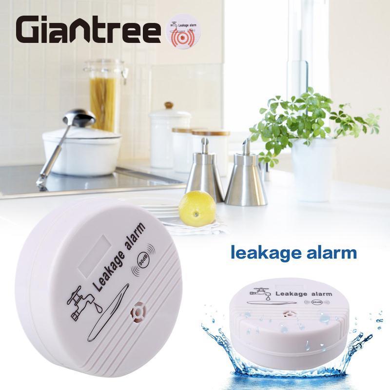 giantree ABS Water Leak Detector Wireless Sensor GSM Smart Alarm System Home Security Alerter aluminum case high quality machine water leak detector water leak water leak alarm