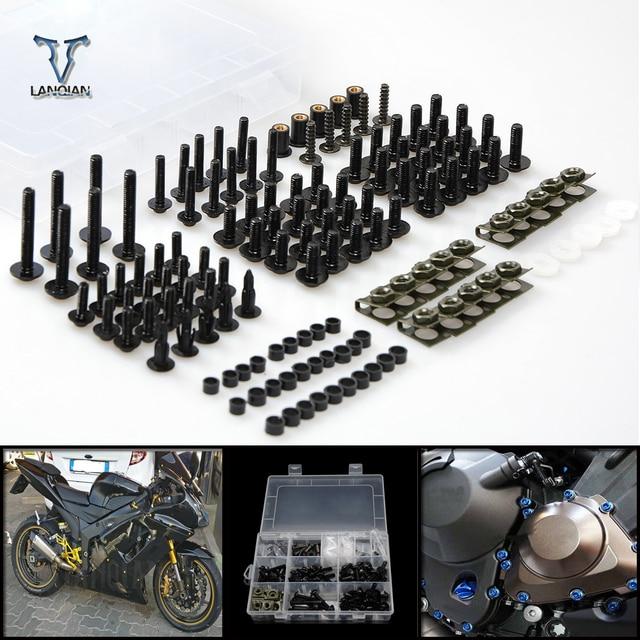 CNC Universal Moto Carenagem/brisas Parafusos Parafusos de ajuste Para Honda espírito preto nc750s nc750x cb1100 vfr1200/GIO especial