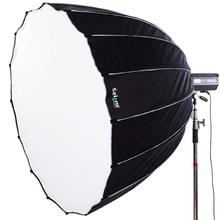 Selens Parabolic Softbox with Bowens Mount Hexadecagon Deep Parabola Quick Folding Softbox for Photo Studio Lighting Flash Light