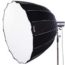 Selens Parabolic Softbox with Bowens Mount Hexadecagon Deep Parabola Quick Folding for Photo Studio Lighting Flash Light