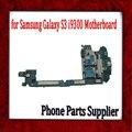100% poço de teste i9300 mainboard, versão europa & original para samsung galaxy s3 i9300 motherboard wich chips, frete grátis