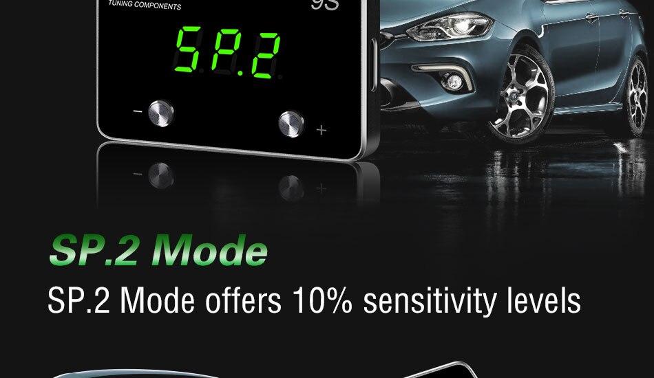 9-mode controlador de acelerador eletrônico carro pedal