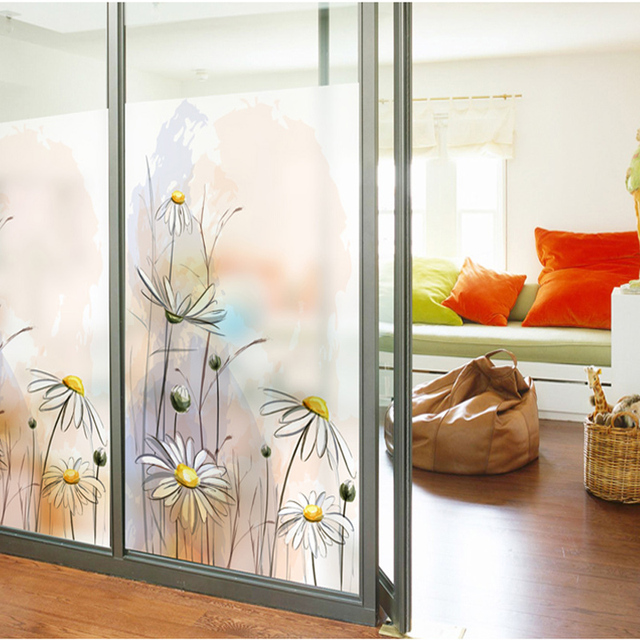Window stickers glass stickers matte glass film sliding door Chinese translucent opaque bathroom glass decoration - & Window stickers glass stickers matte glass film sliding door Chinese ...