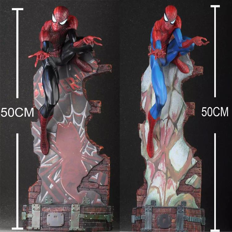 Marvel Crazy Toys Spiderman The Amazing Spider-man PVC Action Figure Collectible Model Toy 18