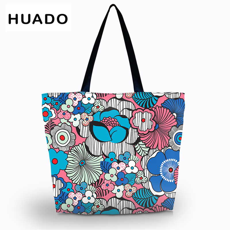 Foldable Eco Reusable Shopping Bags Reusable Tote Pouch Recycle Storage Handbags waterproof female tote for shopping beach bags