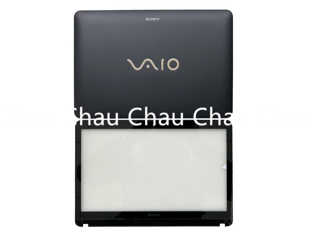 NEW SONY VAIO SVF142 SVF143 SVF142C29L Lcd Back cover Rear lid top  touchscreen