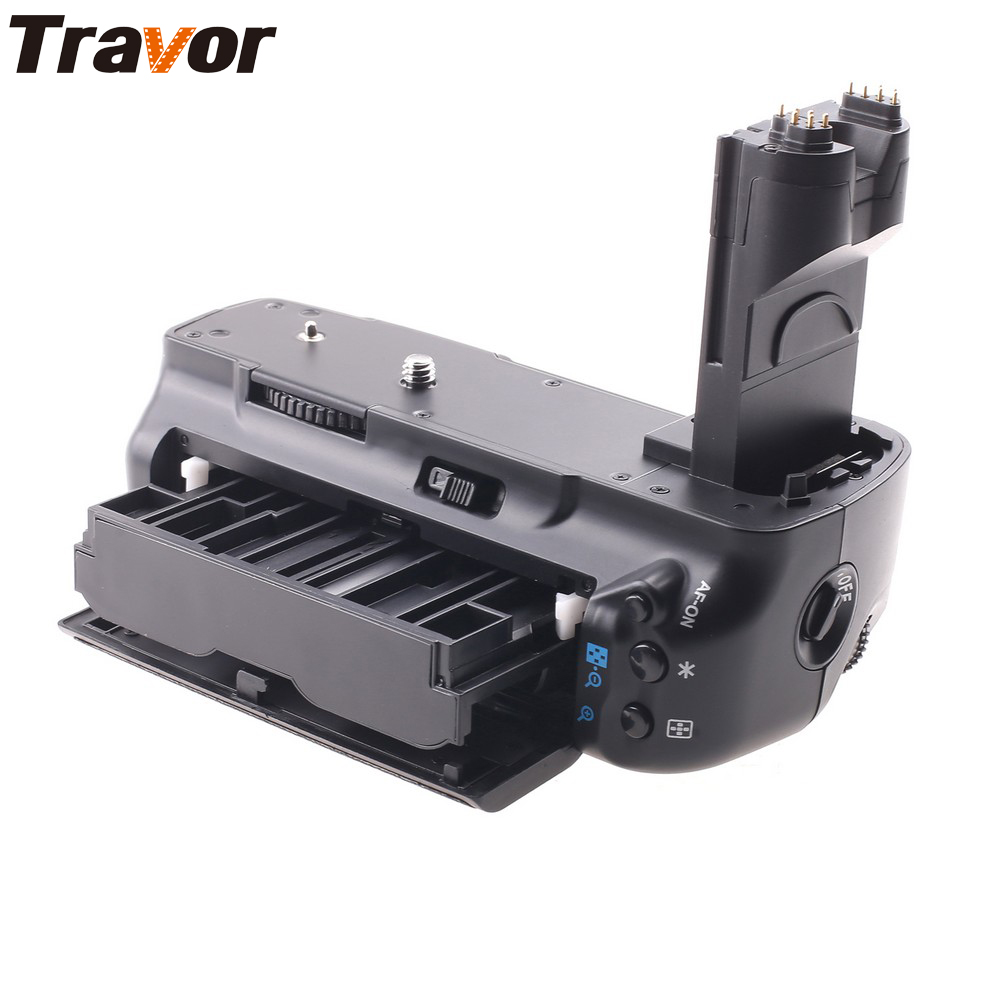 Travor Multi-Power Battery Grip for Canon EOS 5D Mark II 2 MK2 5DM2 DSLR Camera as BG-E6 new canon eos 7d mark ii mk 2 dslr camera body black multi languages