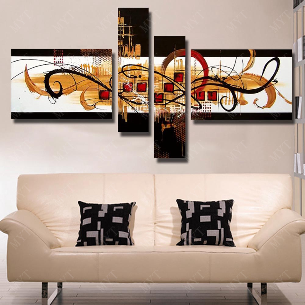 Paintings For Walls Of Living Room Aliexpresscom Buy Wall Picture No Framework Handmade Painting