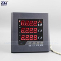 CJ 3UI23 O 3 phase current and voltage combination meter digital current and voltage combination panel meter with 1 alarm output