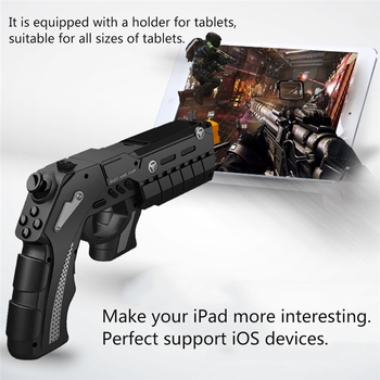 Trigger Gun Joystick For Android iPhone Cell Phone Mobile iPad PC Computer Controller Gamepad Game Pad Gaming Control Cellphone 3