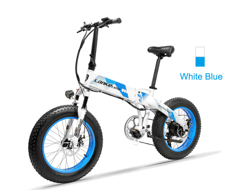 HTB1gprEbinrK1RjSsziq6xptpXaX - 20 Inch Electrical Snow Bike Electrical Bicycle Two Wheel Brushless Motor 500W 48V Mountain Bike Folding Moveable Electrical Scooter